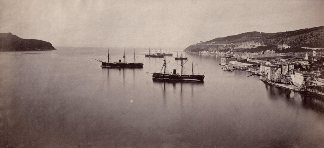 View of Ships at Bay