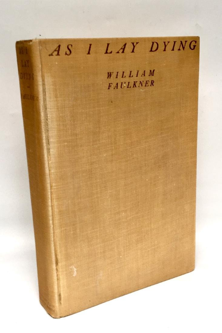 As I Lay Dying 1930 First Edition