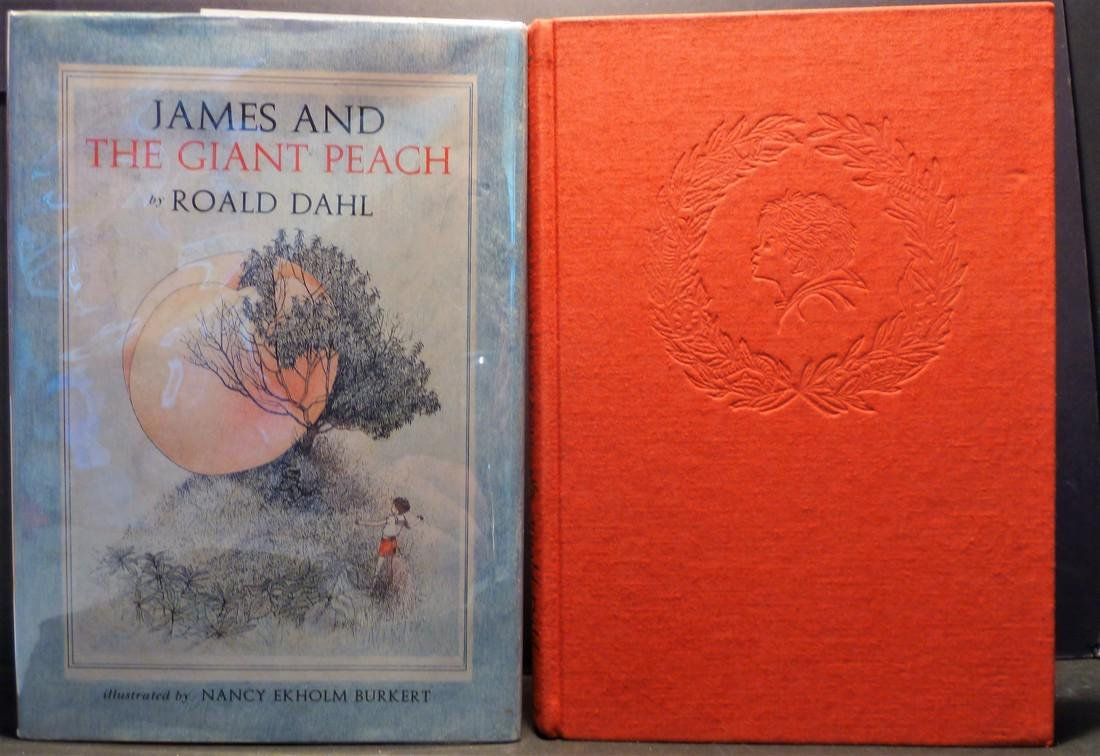 Roald Dahl James & the Giant Peach Signed First Ed 1961
