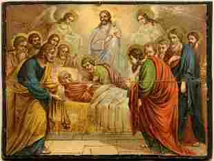 Dormition of the Virgin Mary Print