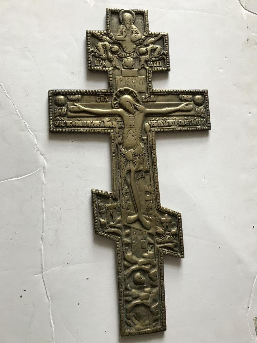 BIG BRONZE CROSS