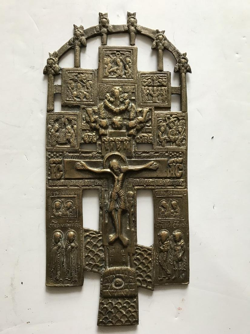 BIG SIZE BRONZE CRUCIFIXION