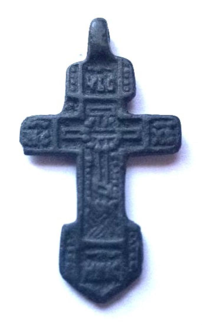 Russian Cross, 15-16th Century.