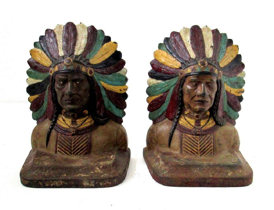 Native American Bookends
