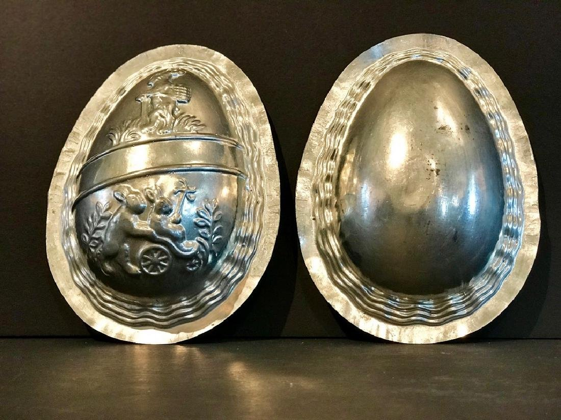 Oversize Easter Egg Chocolate Mold, Early 20th Century
