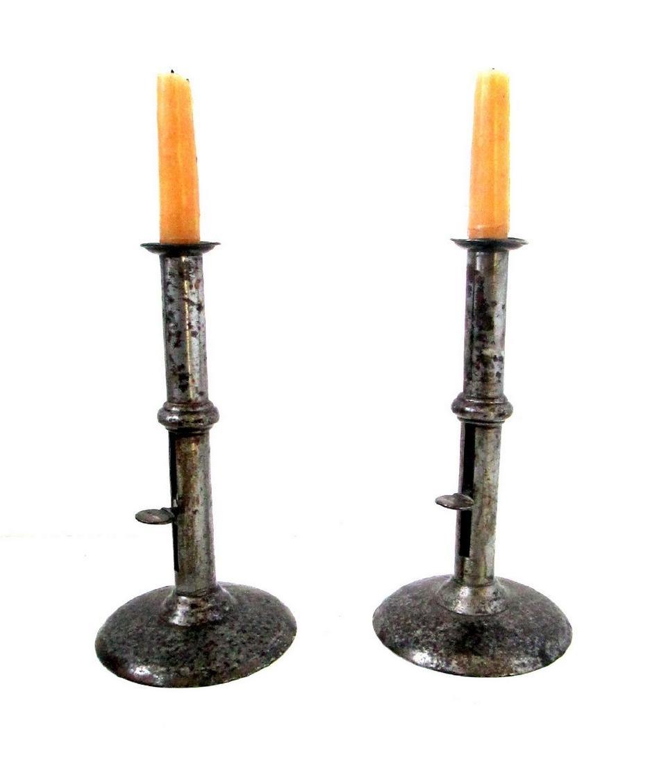 Early Wedding Band Candlesticks