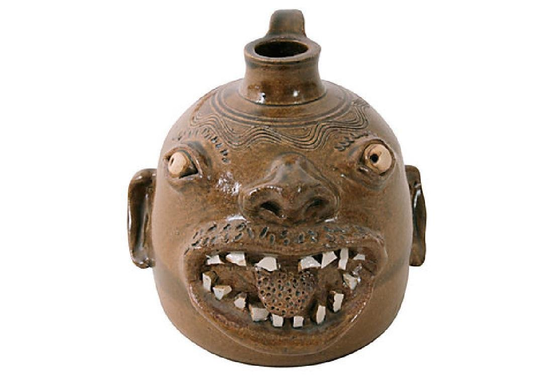 Rodney Leftwich Face Jug