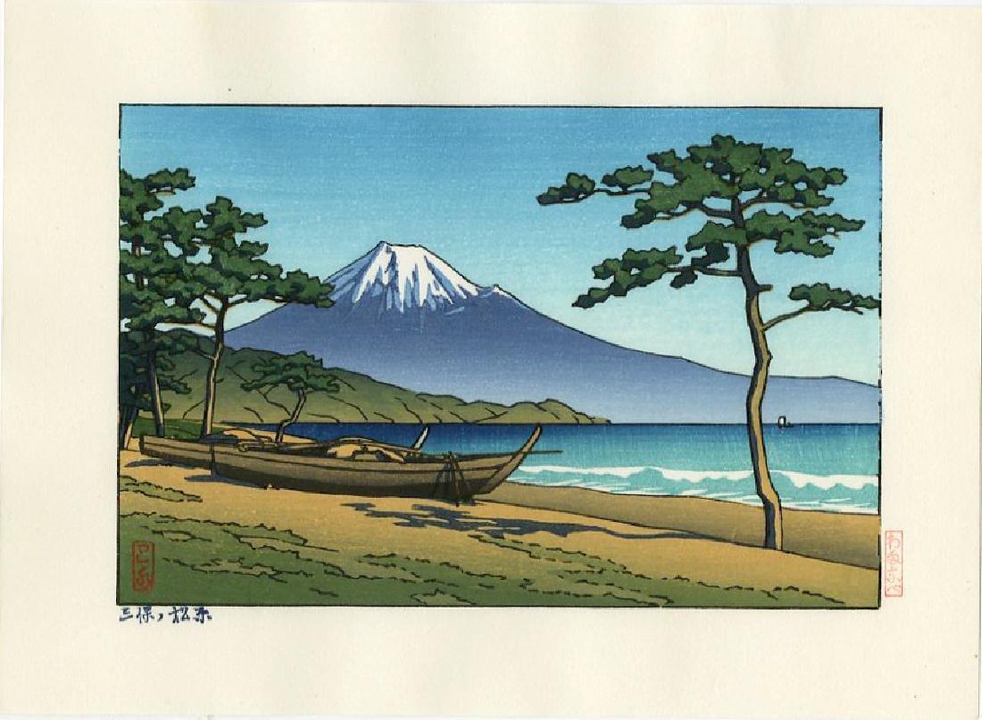 Kawase Hasui Woodblock Miho No Matsubara