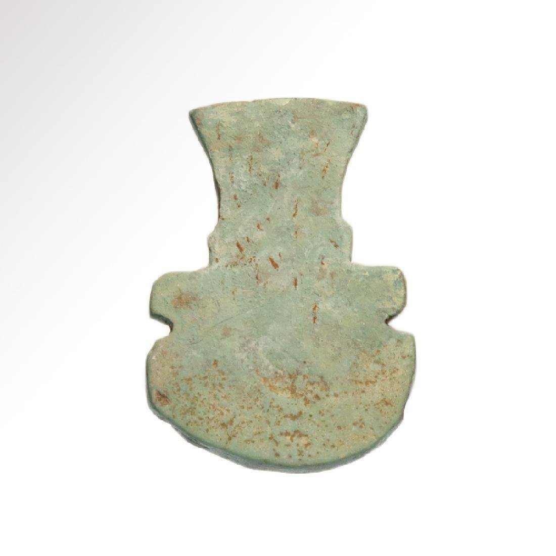 Egyptian Turquoise Faience Amulet of Bes, C. 600 BC - 2