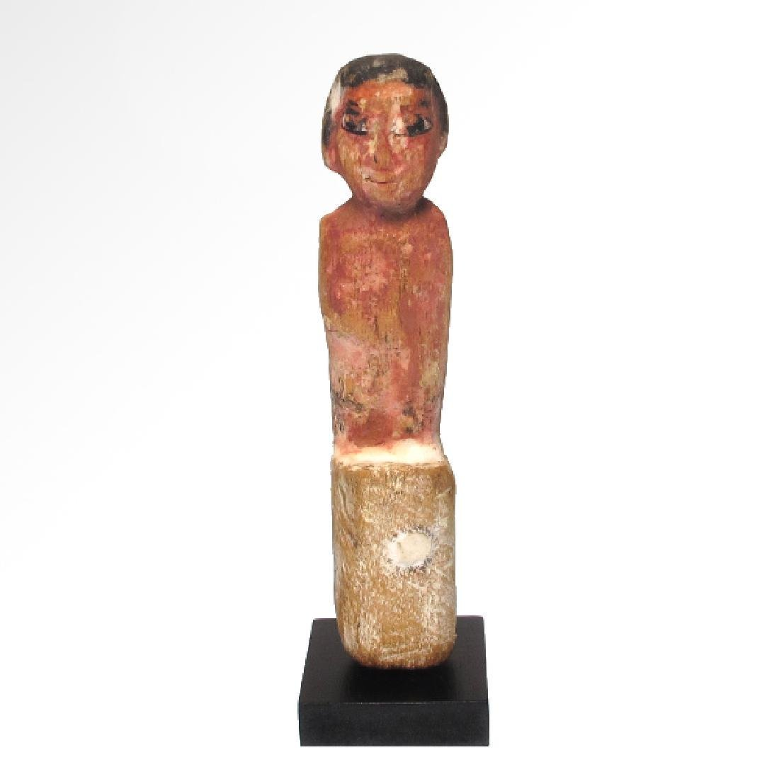 Egyptian Wooden Figure, Middle Kingdom, 2050-1786 BC