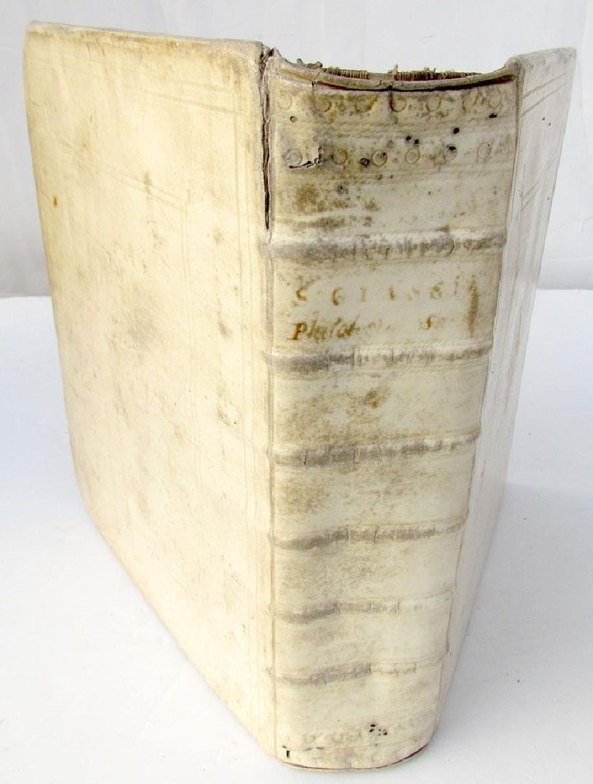 1711 Philologia Sacra Solomone Glassio Antique Vellum