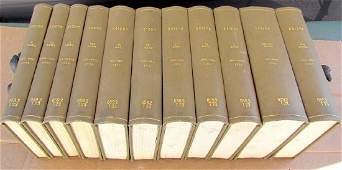 Group of 11 Jewish Books Hebrew Printed in Warsaw