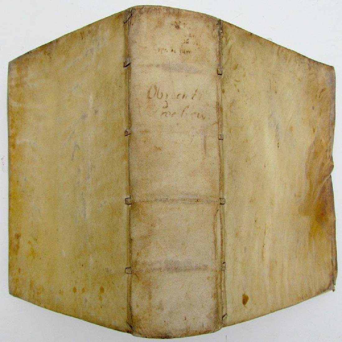 1604 Vellum Bound Antique Book Georgii Obrechti Jc.