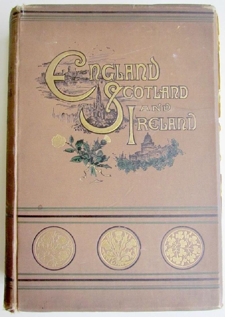 England Scotland & Ireland 1887 Picturesque Survey