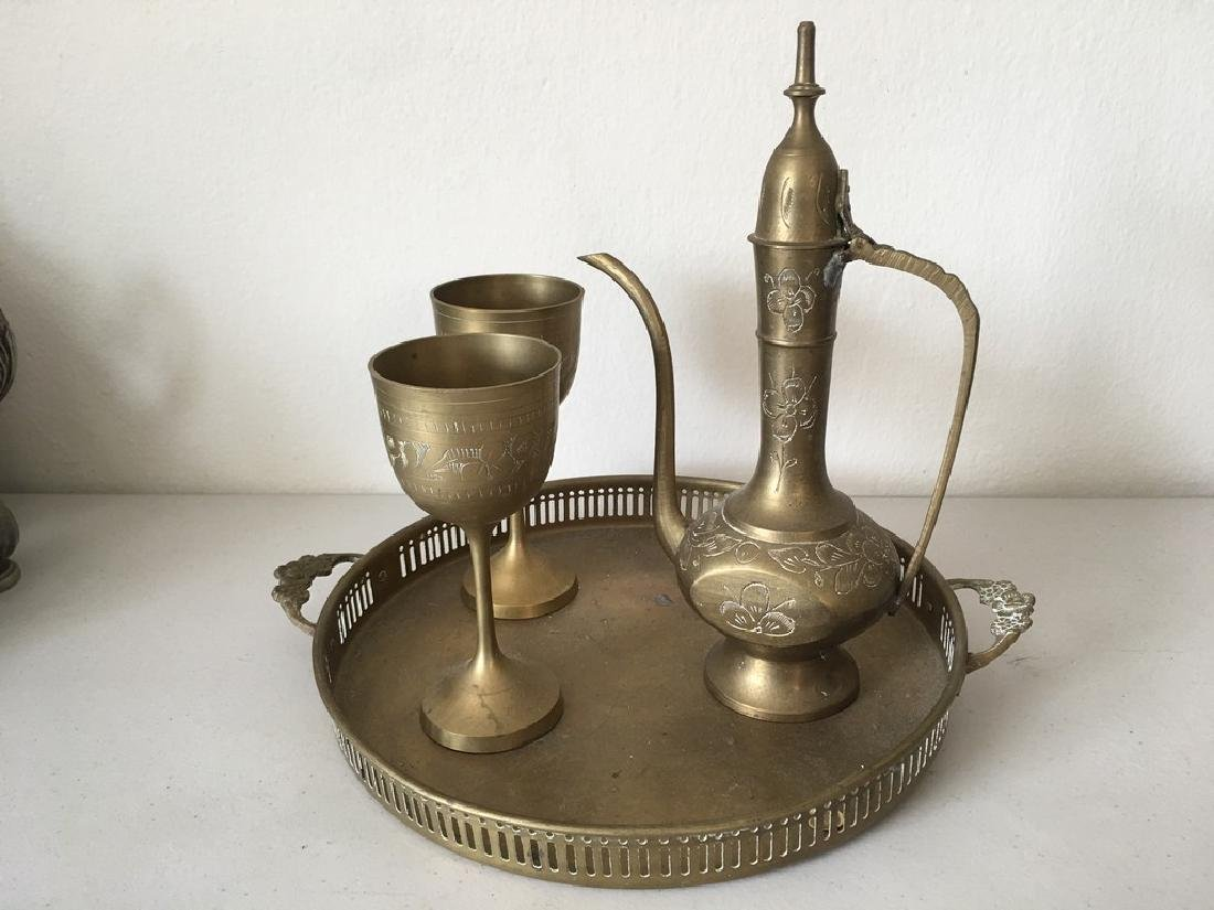 3 Pieces Drinking Set With a Plate