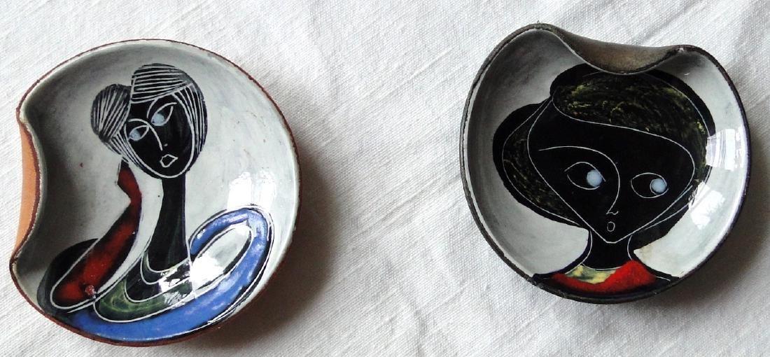 Frantoni Leather-clad Porcelain dishes