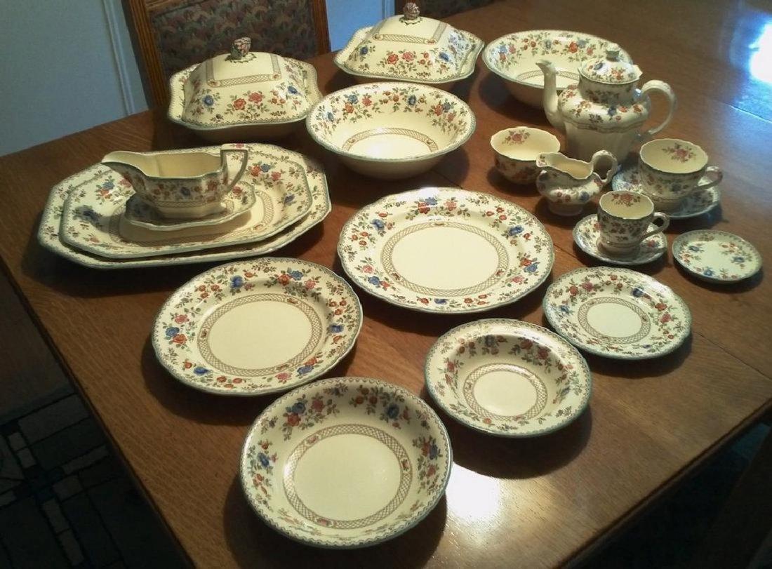 Vintage Royal Jasmine Earthenware Range by Spode