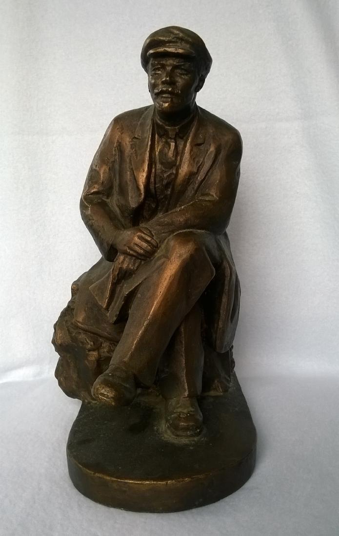Sculpture - Russian Soviet USSR Leader Vladimir Lenin