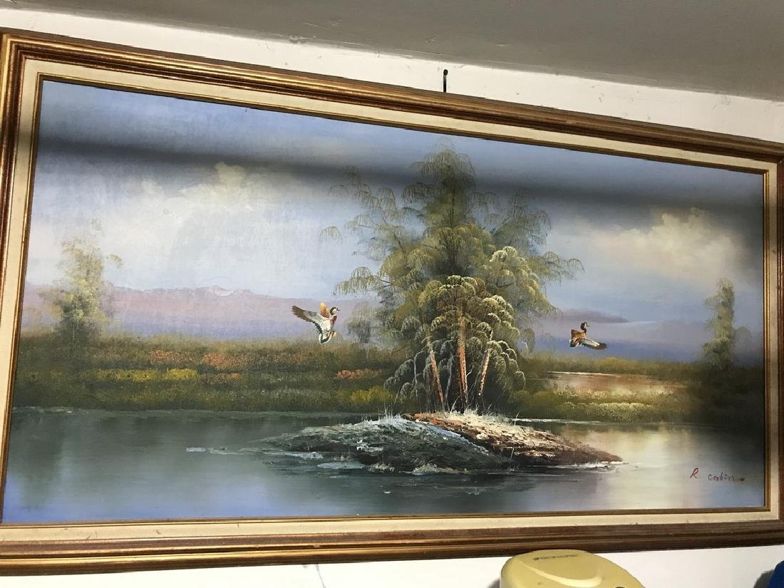 Beautiful R.corbin Painting