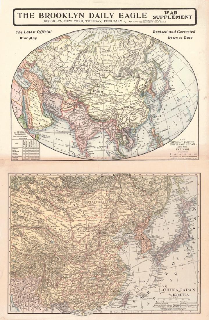 Latest Official War Map 1904