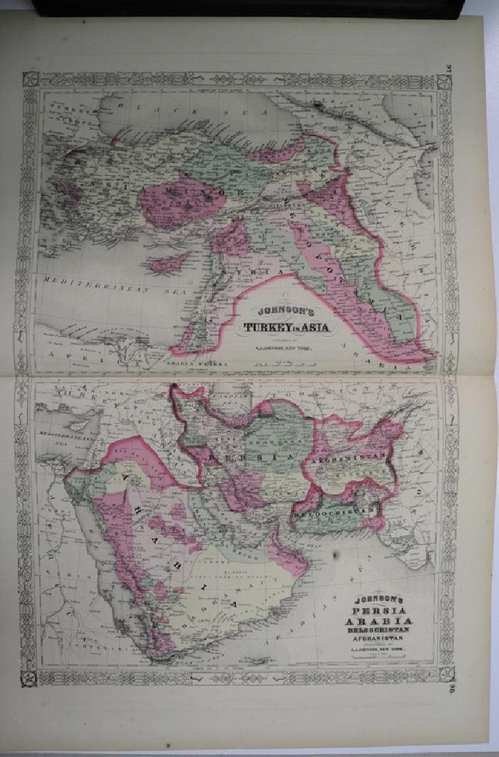 Johnson's Map of Turkey in Asia 1867