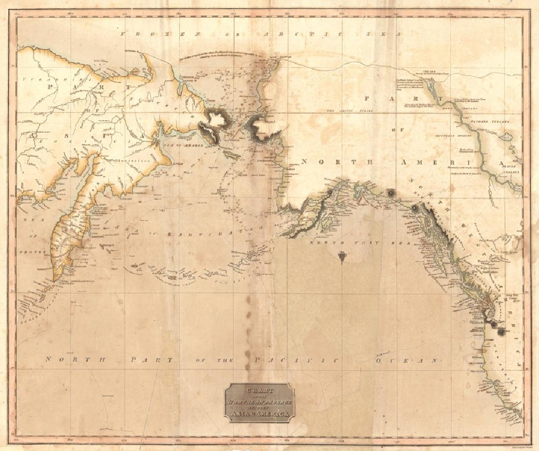 Thomson: Chart of the Northern Passage 1817
