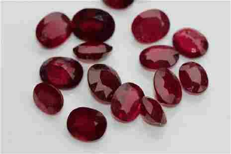 Lot of natural gemstones 258ct