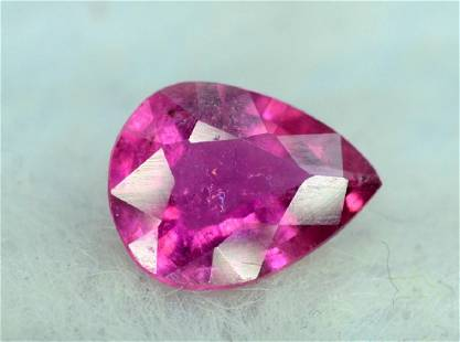 Untreated Rubelite Tourmaline Loose Gemstone