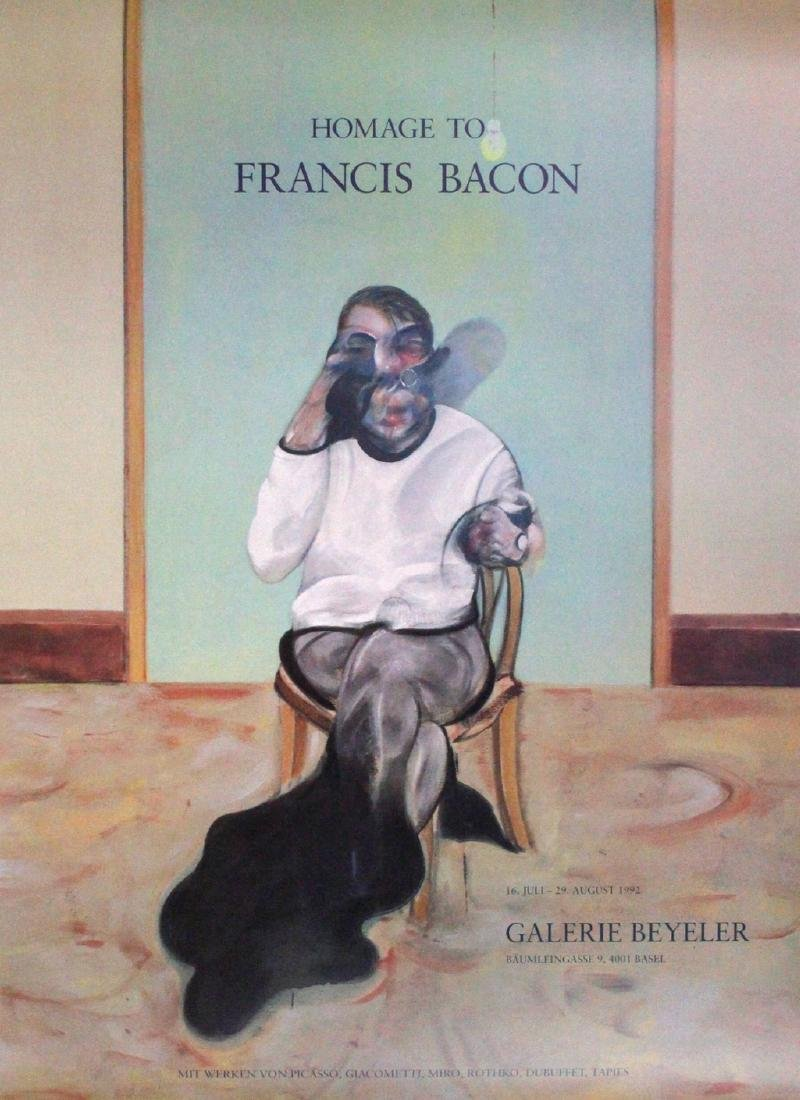 Hommage To Francis Bacon Print