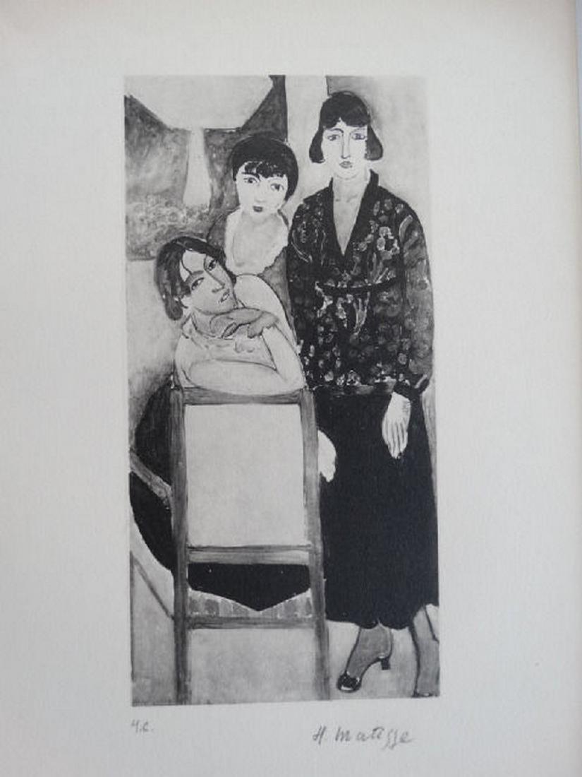 Henri Matisse, After Hand Signed