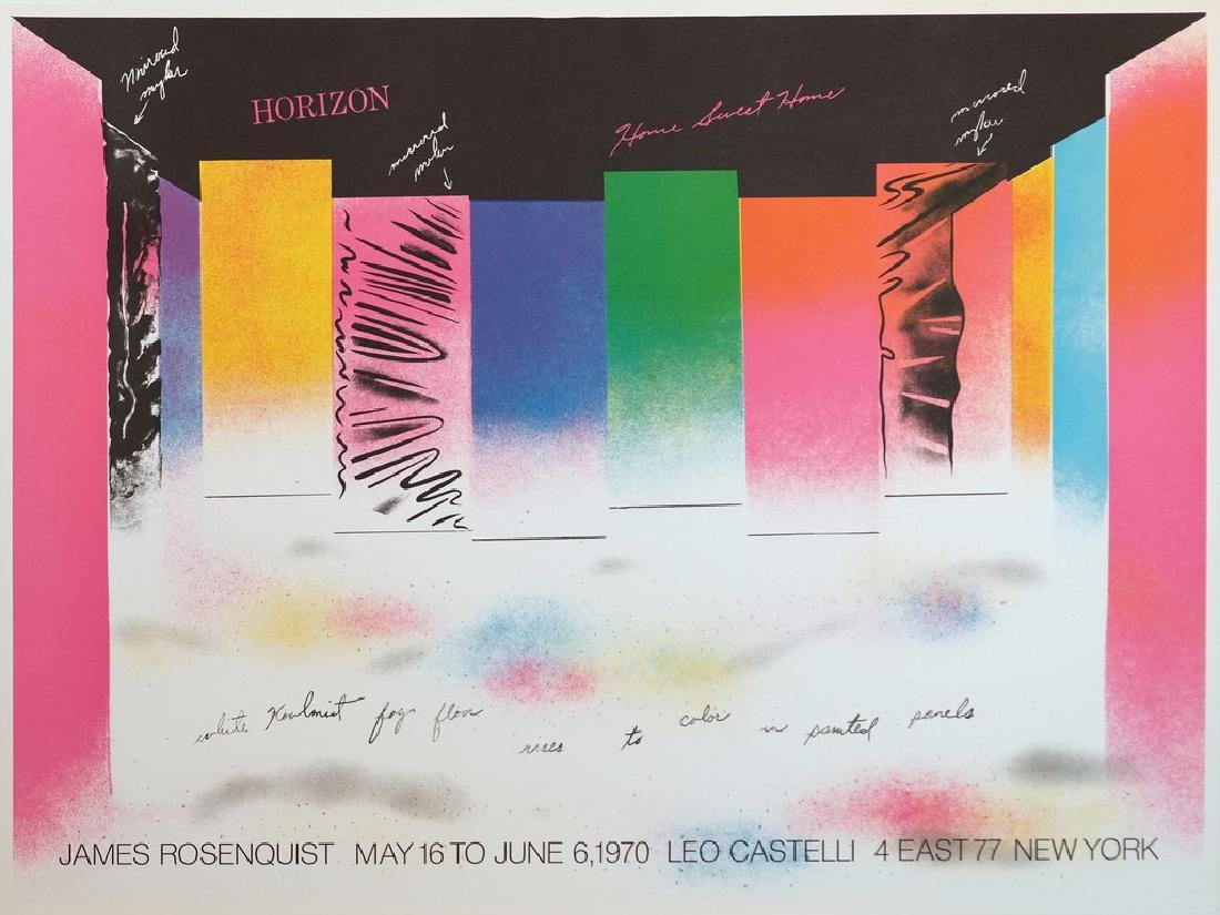 James Rosenquist Horizon Print