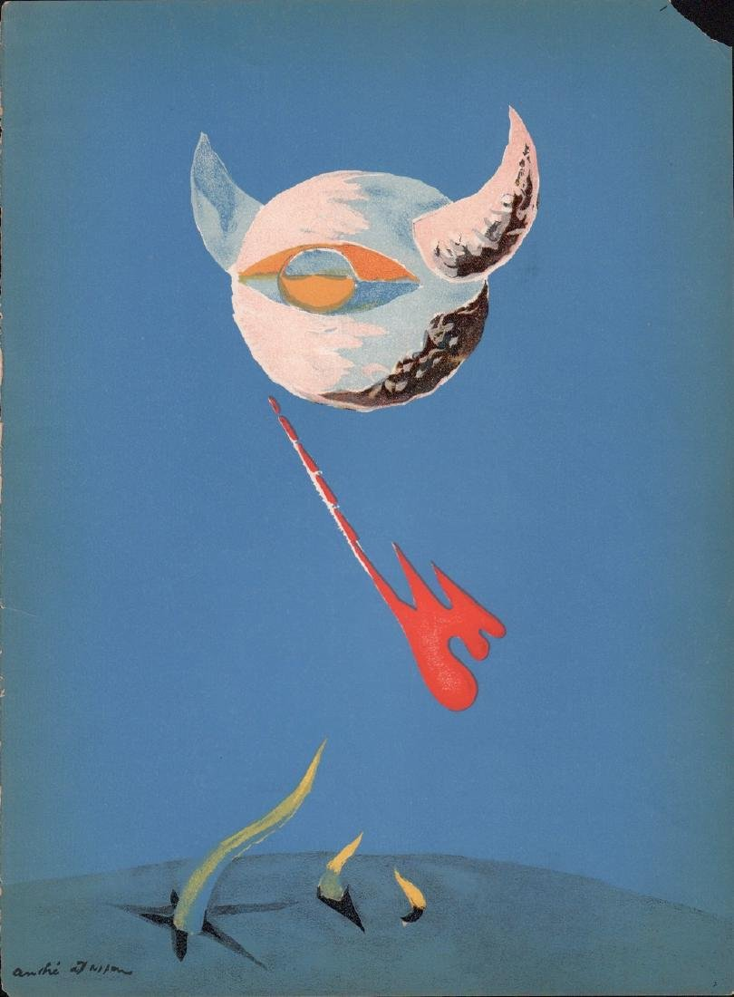 The Moon By Andre Masson