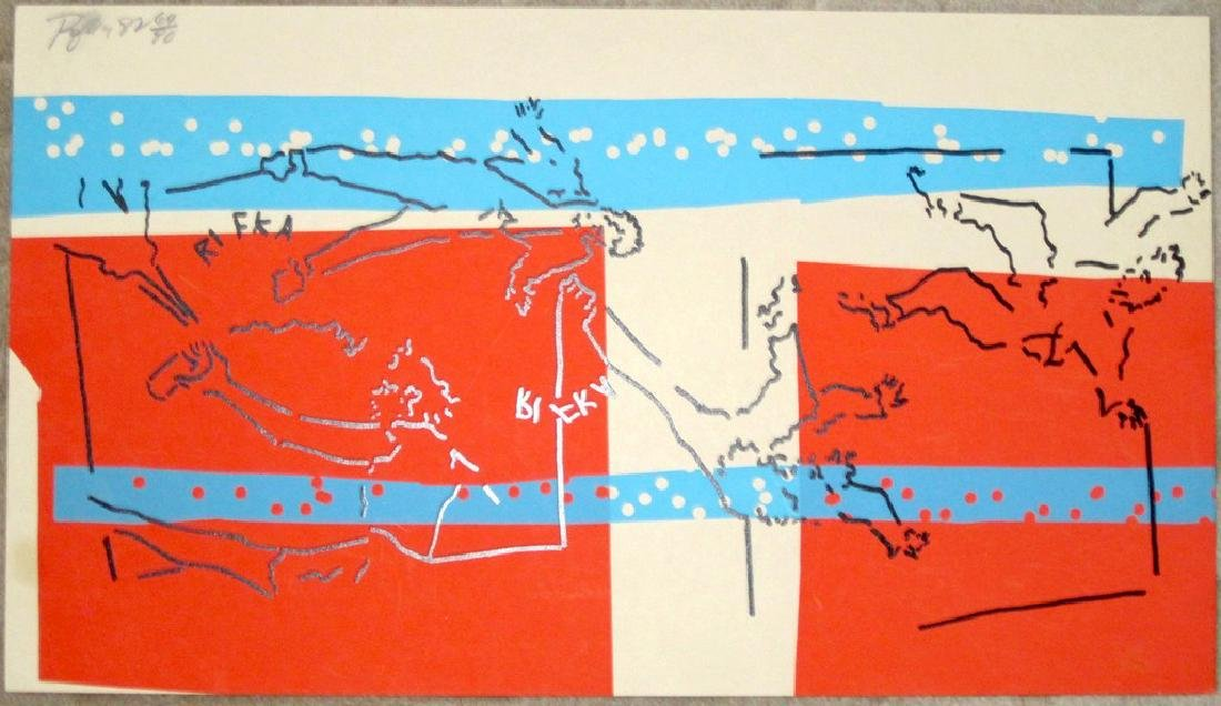 Judy Rifka 1982 Print