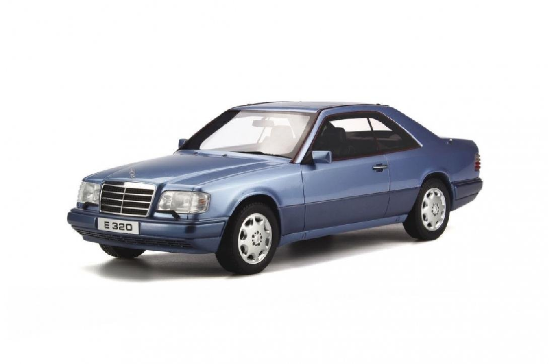 1/18 Scale Mercedes Benz C124 E320 Coupe Metallic blue