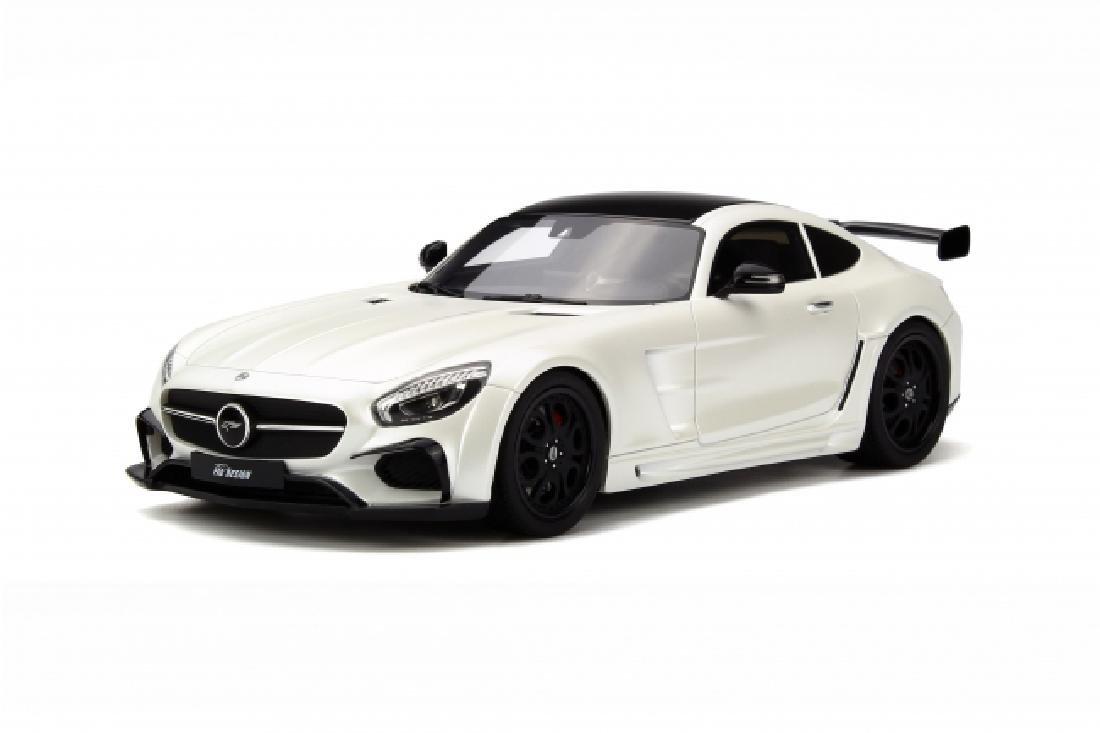 1/18 Scale Mercedes benz AMG GT FAB Design - White