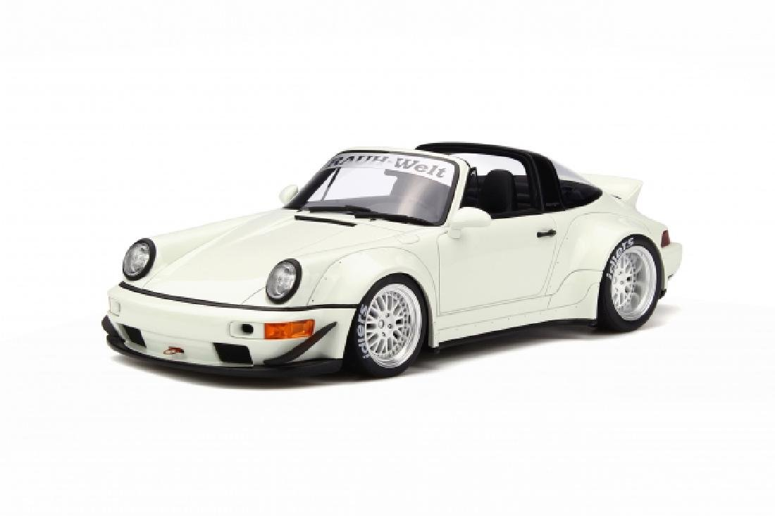 1/18 Scale Porsche 964 Targa RWB - White