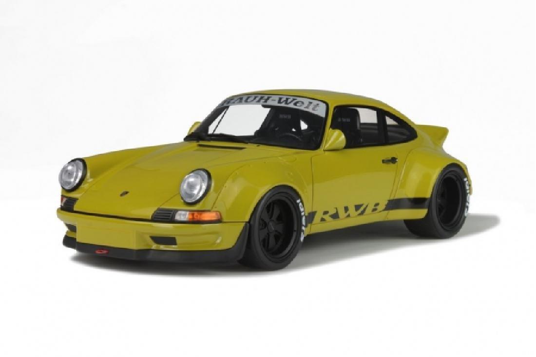 1/18 Scale Porsche 911 930 RWB - Kaki green