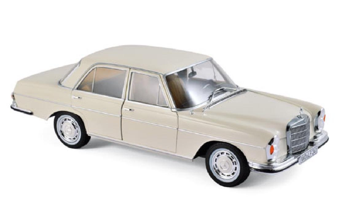 1/18 Scale Mercedes benz 280SE 1968 - Ivory