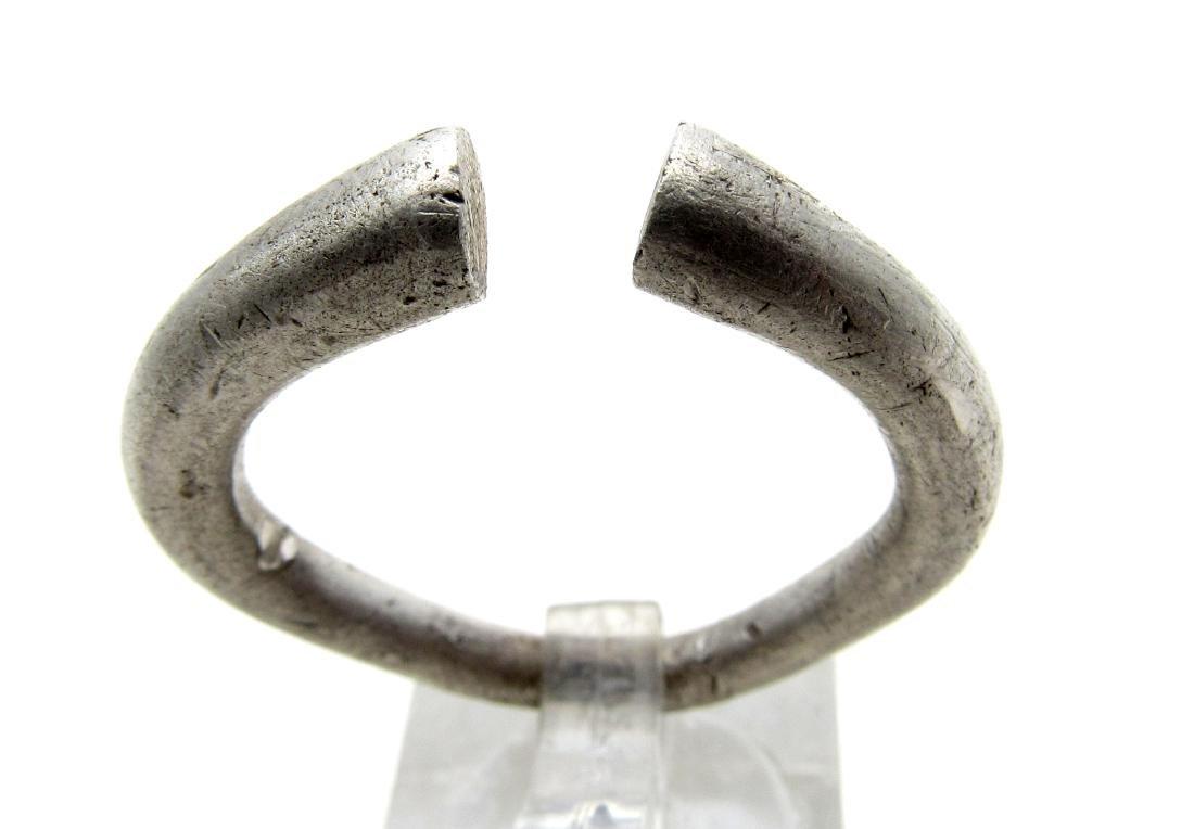 Large Medieval Viking Era Silver Ring