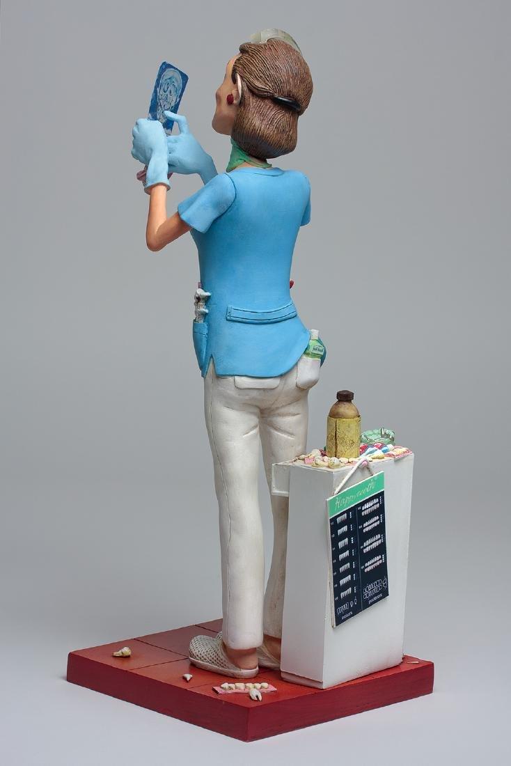 Guillermo Forchino - Lady Dentist - Comic Art statue - 3