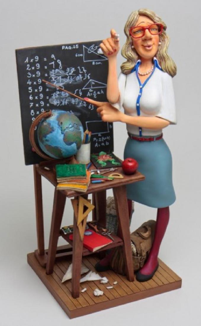 Guillermo Forchino - The Teacher - Comic Art statue
