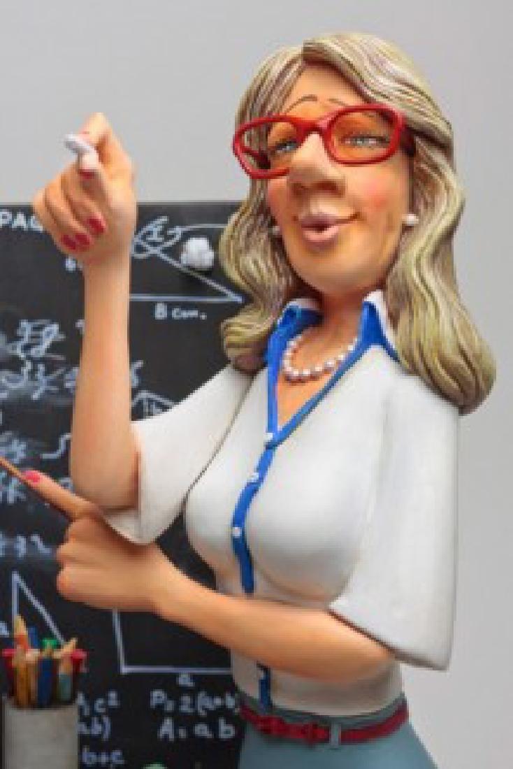 Guillermo Forchino - The Teacher - Comic Art statue - 2