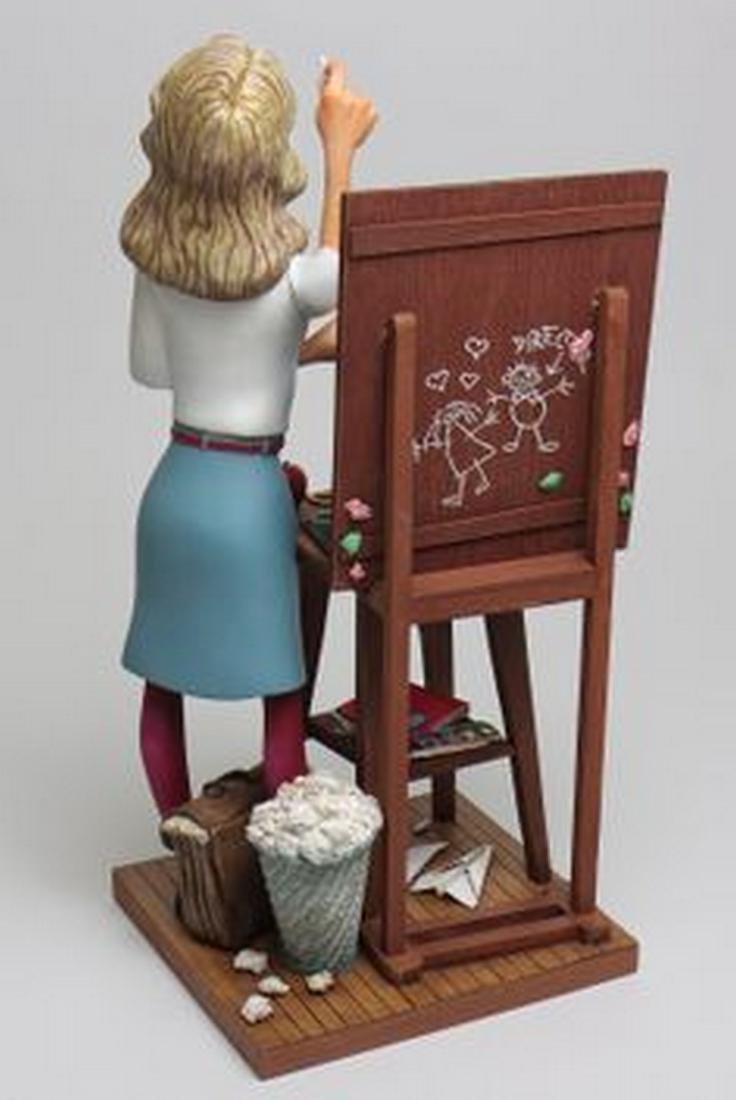 Guillermo Forchino - The Teacher - Comic Art statue - 3