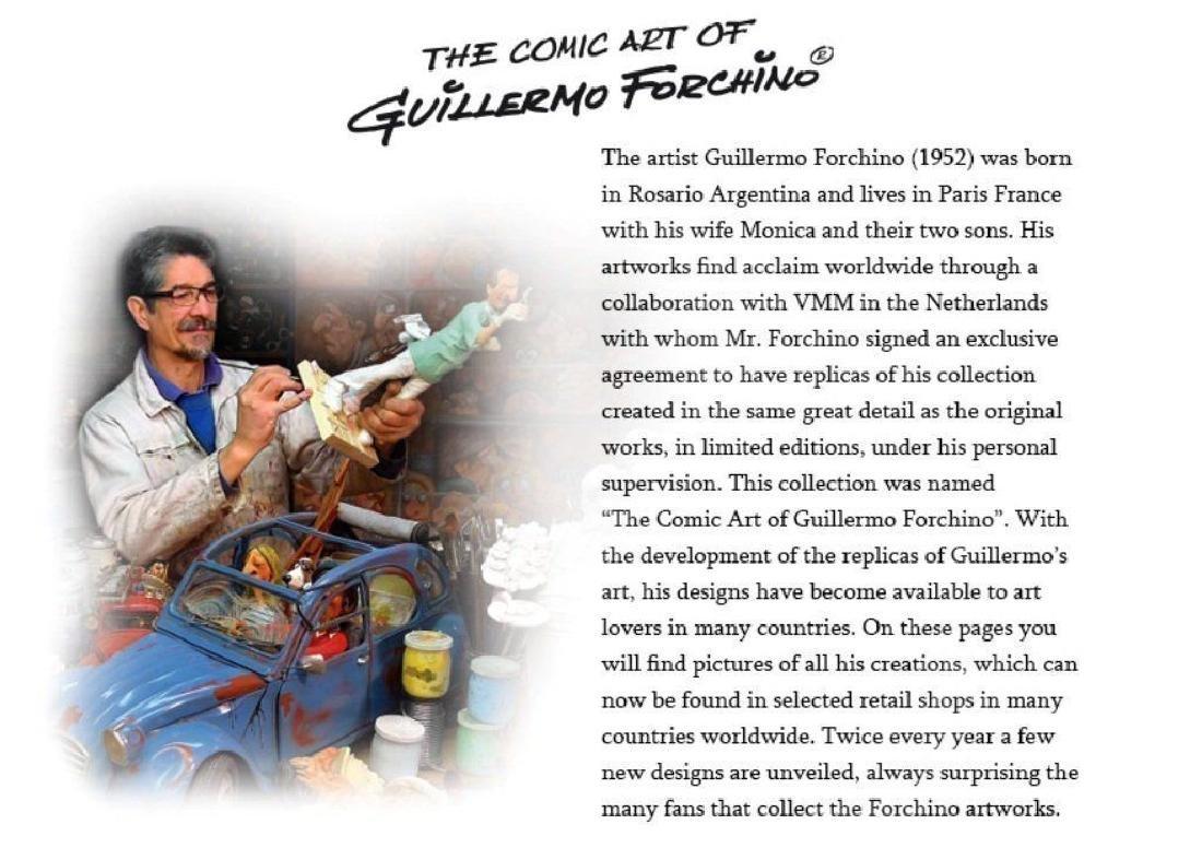 Guillermo Forchino - The Teacher - Comic Art statue - 6