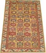 Antique Caucasian Shirvan Kazak ChiChi Kuba Rug 3.5x5.1
