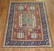 Antique Caucasian Karachop Kazak Shirvan Rug 5.4x7.2