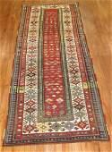 Antique Caucasian Shirvan Talish Rug 3.5x8.6