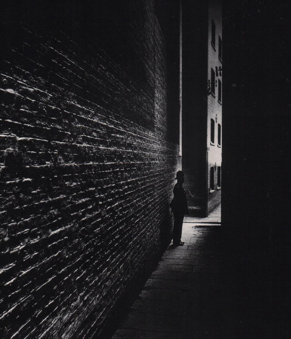 BILL BRANDT - Policeman in Bermondsey, London