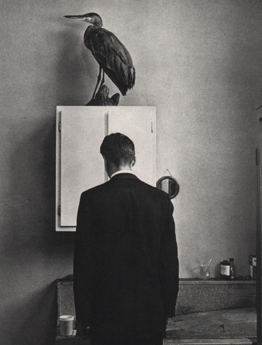 ANDRE KERTESZ - The Heron, New York 1969