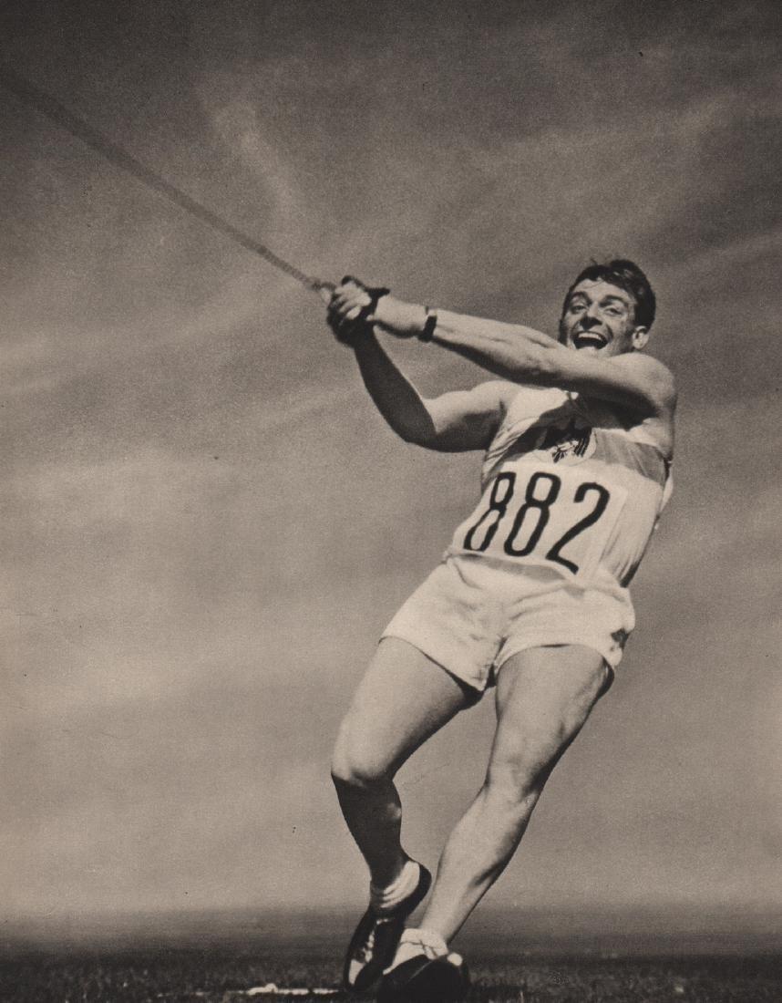 LENI RIEFENSTAHL - Hein - Germany, Gold Medal